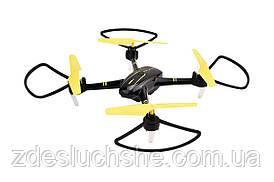 Квадрокоптер Helicute H828HW з камерою Wi-Fi і барометром чорний SKL17-223424