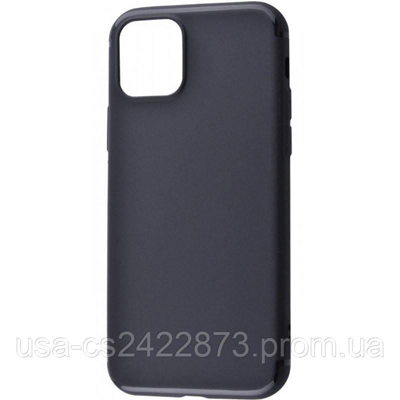 "TPU чехол Black Matt 0.5mm для Apple iPhone 11 Pro (5.8"")"