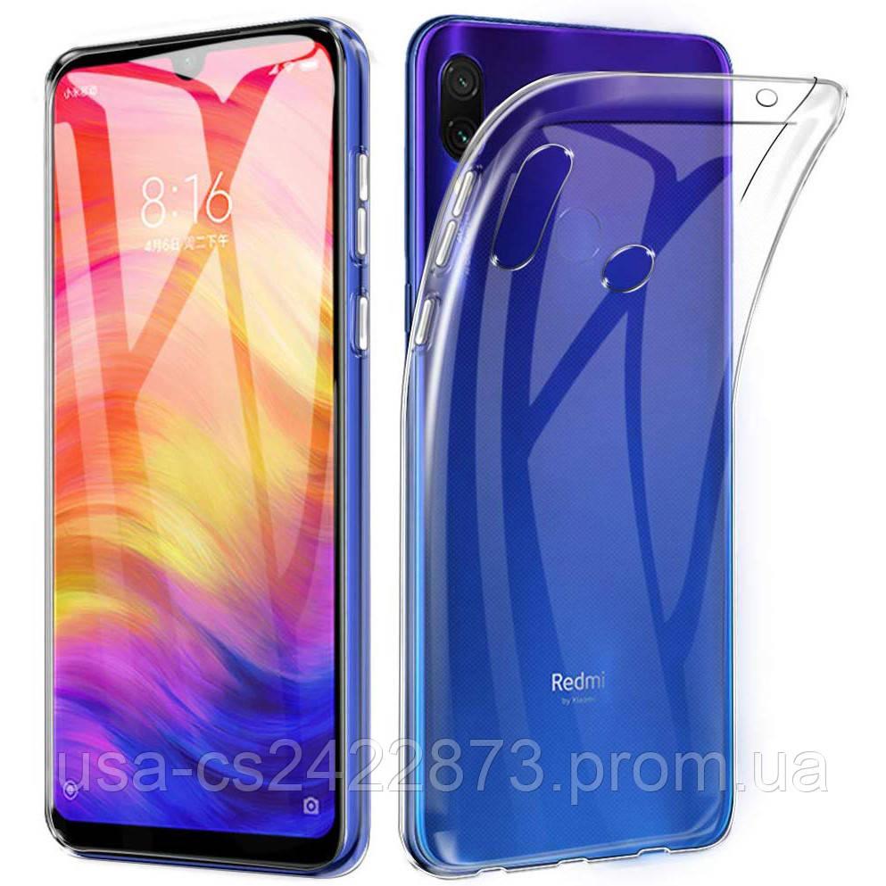 TPU чехол Epic Transparent 2,00 mm для Xiaomi Redmi 7