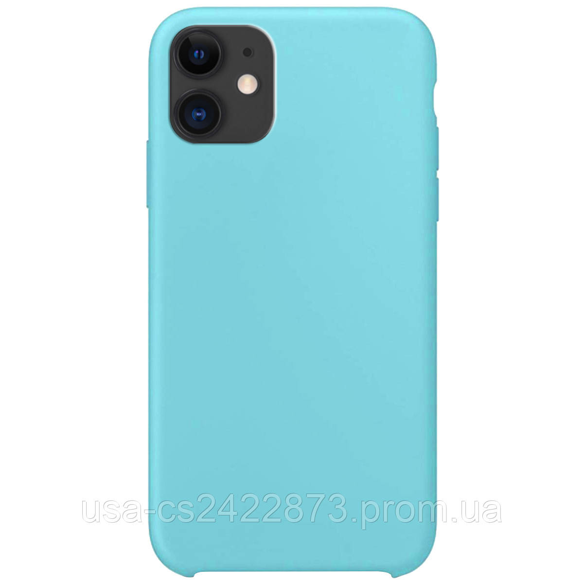 """Чехол Silicone Case without Logo (AA) для Apple iPhone 11 (6.1"""")"""