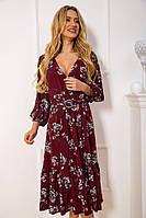 Платье женское 115R394-4 цвет Бордовый, фото 1