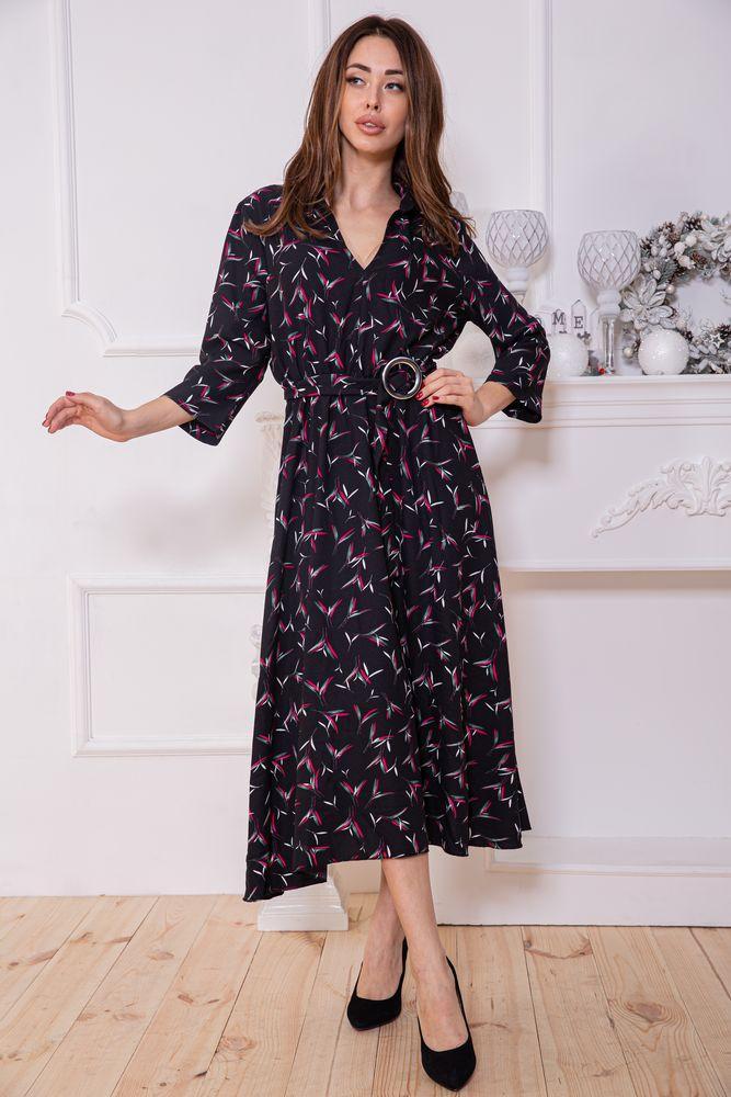Платье женское 115R392-5 цвет Черный