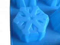 Силиконовая форма для мыла  «Снежинка 3»