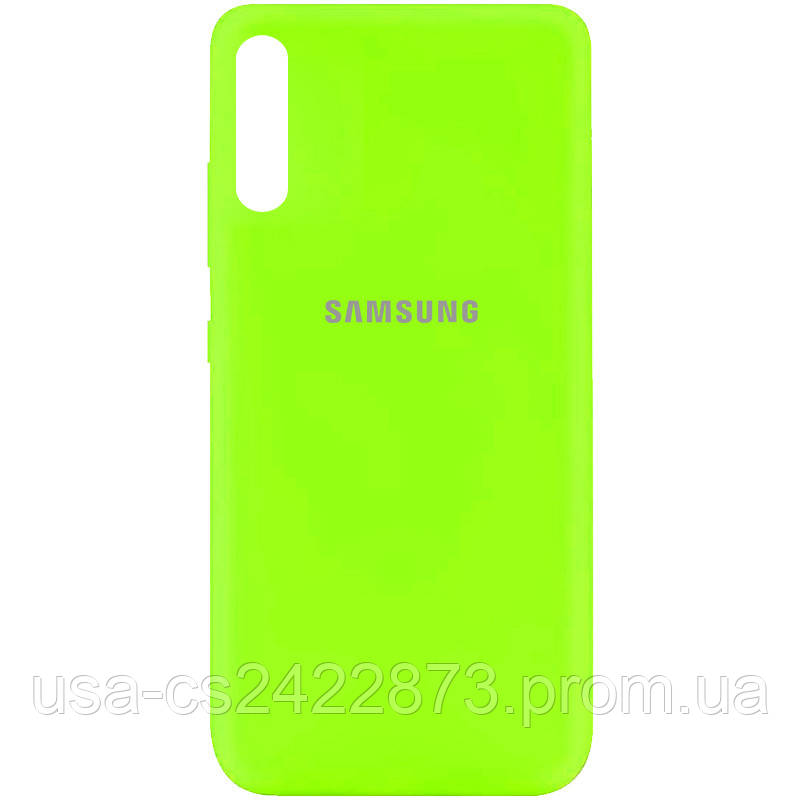 Уцінка Чохол Silicone Cover My Color Full Protective (A) для Samsung Galaxy A50 (A505F) / A50s /A30s