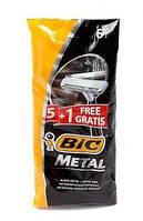 Bic Metal одноразовые станки 5+1 шт. Бик метал
