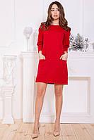 Платье 115R243-1 цвет Красный, фото 1
