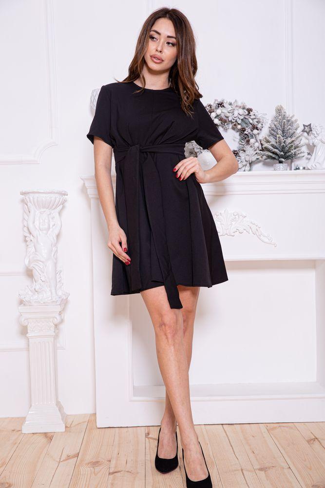 Платье 115R231-1 цвет Черный