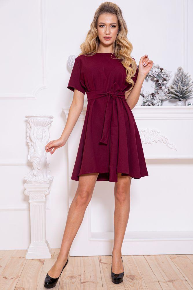 Платье 115R231-1 цвет Бордовый
