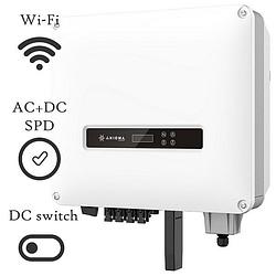 Сетевой инвертор AXIOMA AXGRID-15/20 (15КВТ 3-ФАЗА 2 МРРТ) + Wi-Fi модуль