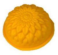 Силиконовая форма для мыла  «Хризантема»
