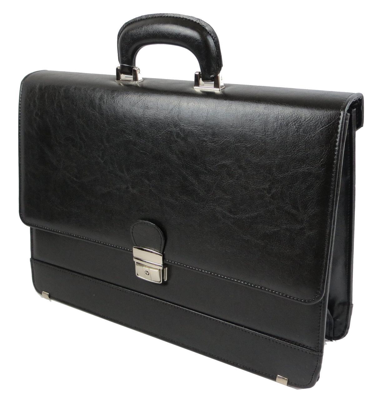 Портфель мужской деловой из эко кожи JPB Vega TE-32