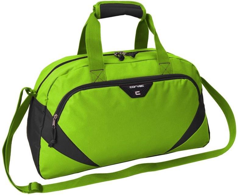 Спортивная сумка 24L Corvet салатовая с черным