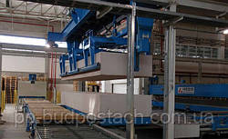 Производственный процесс завода газобетона, описание процесса производства автоклавного газобетона