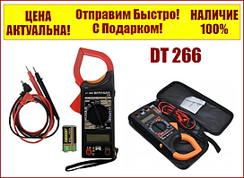 Мультиметр-тестер струмовимірювальні кліщі DT 266