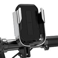 Держатель вело-мото Baseus Armor Motorcycle holder, серебристый