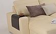 Кутовий шкіряний диван Філадельфія з отоманкою, фото 2