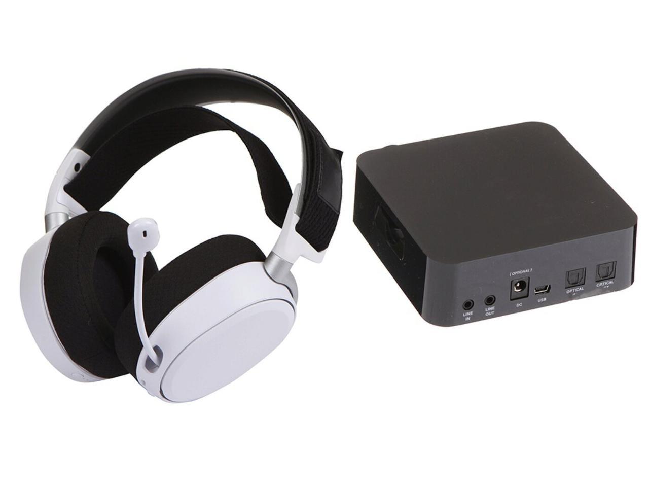 Беспроводная гарнитура SteelSeries Arctis Pro White (61474), б/у