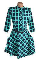 Женское платье диагональ