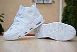 Кроссовки распродажа АКЦИЯ последние размеры 750 грн Nike Air More Uptempo 38р 24 см люкс копия, фото 3