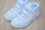 Кроссовки распродажа АКЦИЯ последние размеры 750 грн Nike Air More Uptempo 38р 24 см люкс копия, фото 7