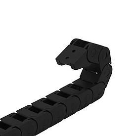 Гибкий кабель-канал (кабелеукладчик) 10х10, открытый