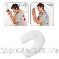 Ортопедична тунельна подушка Pressure Free Мемогі Pillow, фото 3