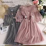 Женское шифоновое платье, фото 3