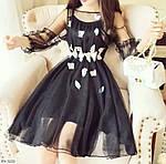 Женское шифоновое платье, фото 4