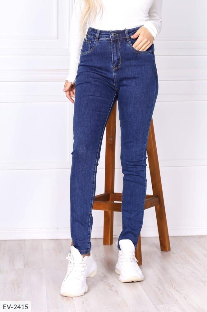 Женские узкие джинсы (Батал)
