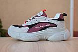 Кроссовки распродажа АКЦИЯ 550 грн последние размеры Balenciaga Triple S  люкс копия, фото 2