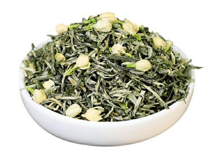 Жасминовий чай у пакеті 250 г натуральний зелений китайський чай з квітами жасмину
