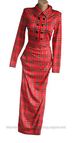 Женское платье франц. трикотаж