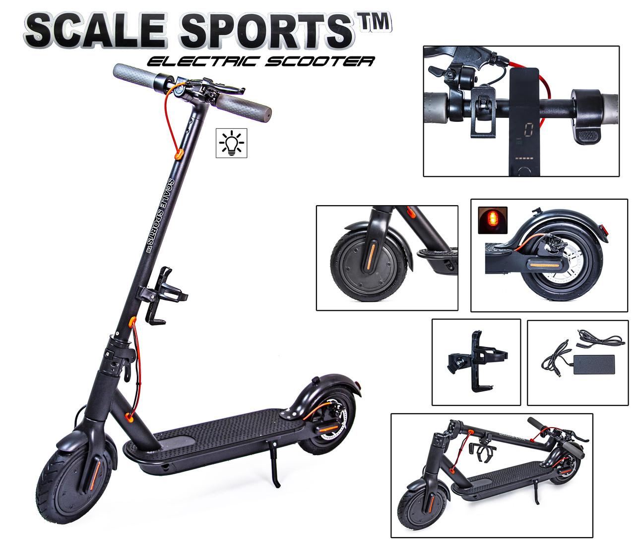 Электро Самокат Scale Sports TITAN Черный