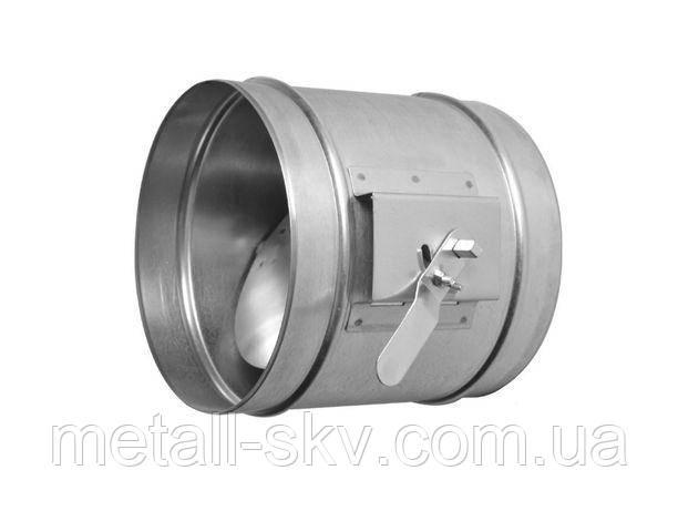Дроссель-клапан ф125мм