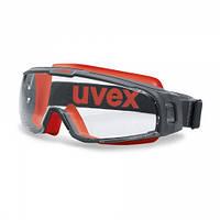 Окуляри захисні UVEX 9308 U-Sonik герметичні. без вентиляції., фото 1