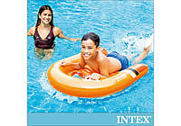 Intex 58154, надувной плотик-доска 102 x 89 см, Surf rider, фото 1