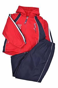 Спортивный костюм детский темно-синий с красным Sport 127415S