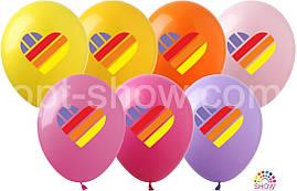 Воздушные шары Likee ассорти TM Show (100 штук)