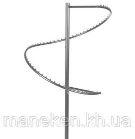 Стійка зі спіраллю (М) металік