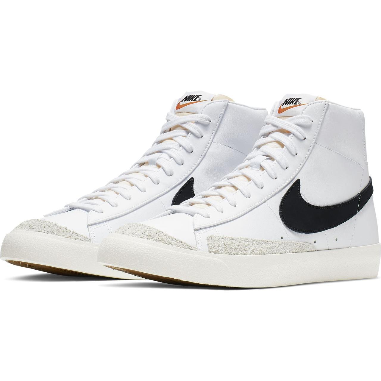 Кроссовки мужские Nike Blazer Mid '77 Vintage BQ6806-100 Белый