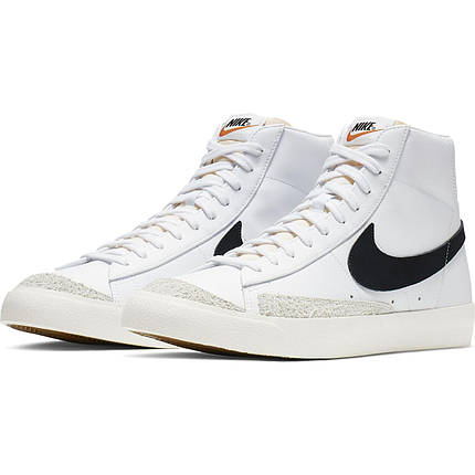 Кроссовки мужские Nike Blazer Mid '77 Vintage BQ6806-100 Белый, фото 2