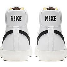 Кроссовки мужские Nike Blazer Mid '77 Vintage BQ6806-100 Белый, фото 3