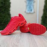 Кроссовки распродажа АКЦИЯ последние размеры 750 грн Nike TN Plus красные полностью38й(24см) люкс копия, фото 3