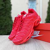 Кроссовки распродажа АКЦИЯ последние размеры 750 грн Nike TN Plus красные полностью38й(24см) люкс копия, фото 5