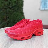 Кроссовки распродажа АКЦИЯ последние размеры 750 грн Nike TN Plus красные полностью38й(24см) люкс копия, фото 6