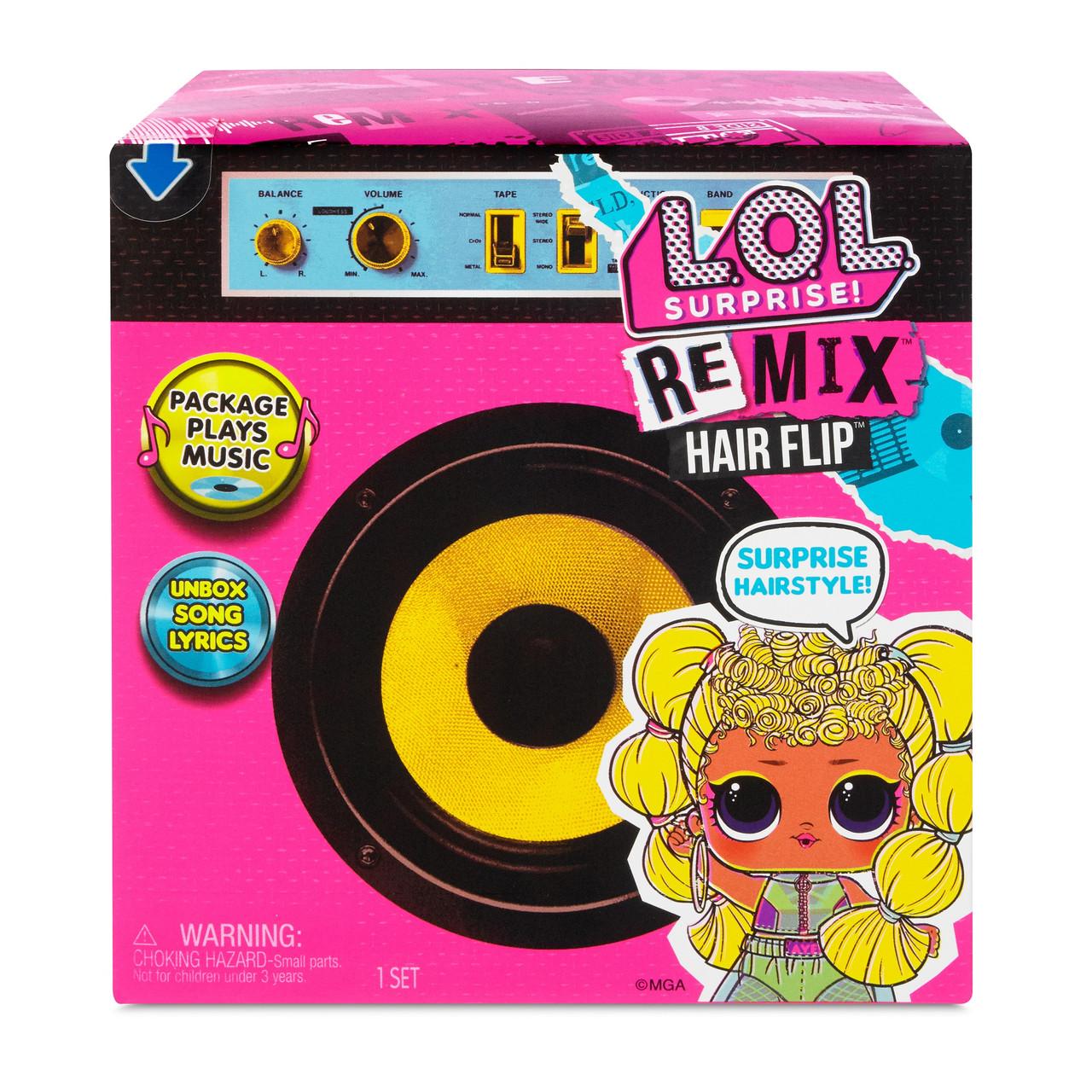 Кукла ЛОЛ Сюрприз ремикс MGA L.O.L. Surprise! Remix Hair Flip Dolls