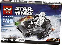 Конструктор LEPIN STAR WARS, аналог LEGO 100 предметов снежный спидер, фото 1