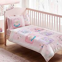 TAC Постельное белье для новорожденных Baby Game pink