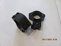 Кольца для крепления оптики 25 мм, на ластохвост, высокие