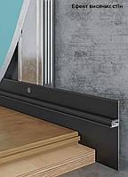 Алюминиевый плинтус скрытого крепления позволяет дополнить и преобразить любой современный дизайн